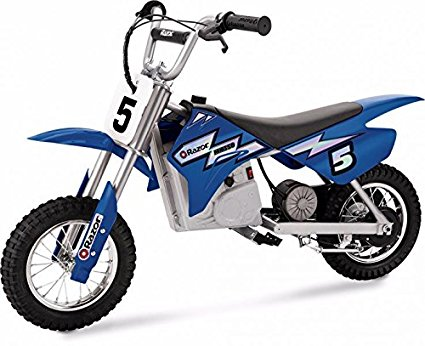 Razor MX350 Dirt Rocket Electric Motocross Bike - Dirt Bike PNG HD