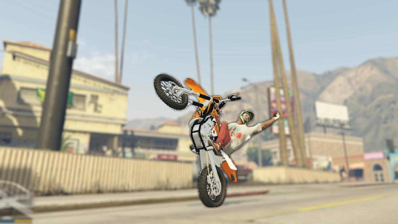 Dirt Bike Wheelie PNG - 157598