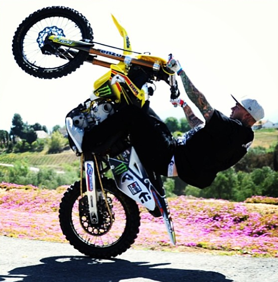 Motocross - Dirt Bike Wheelie PNG