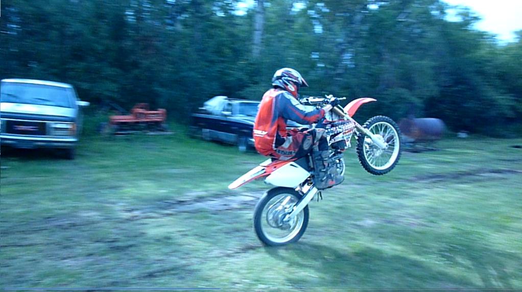 Dirt Bike Wheelie PNG - 157612