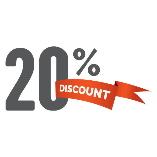 20 percent discount sale tag png - Discount PNG