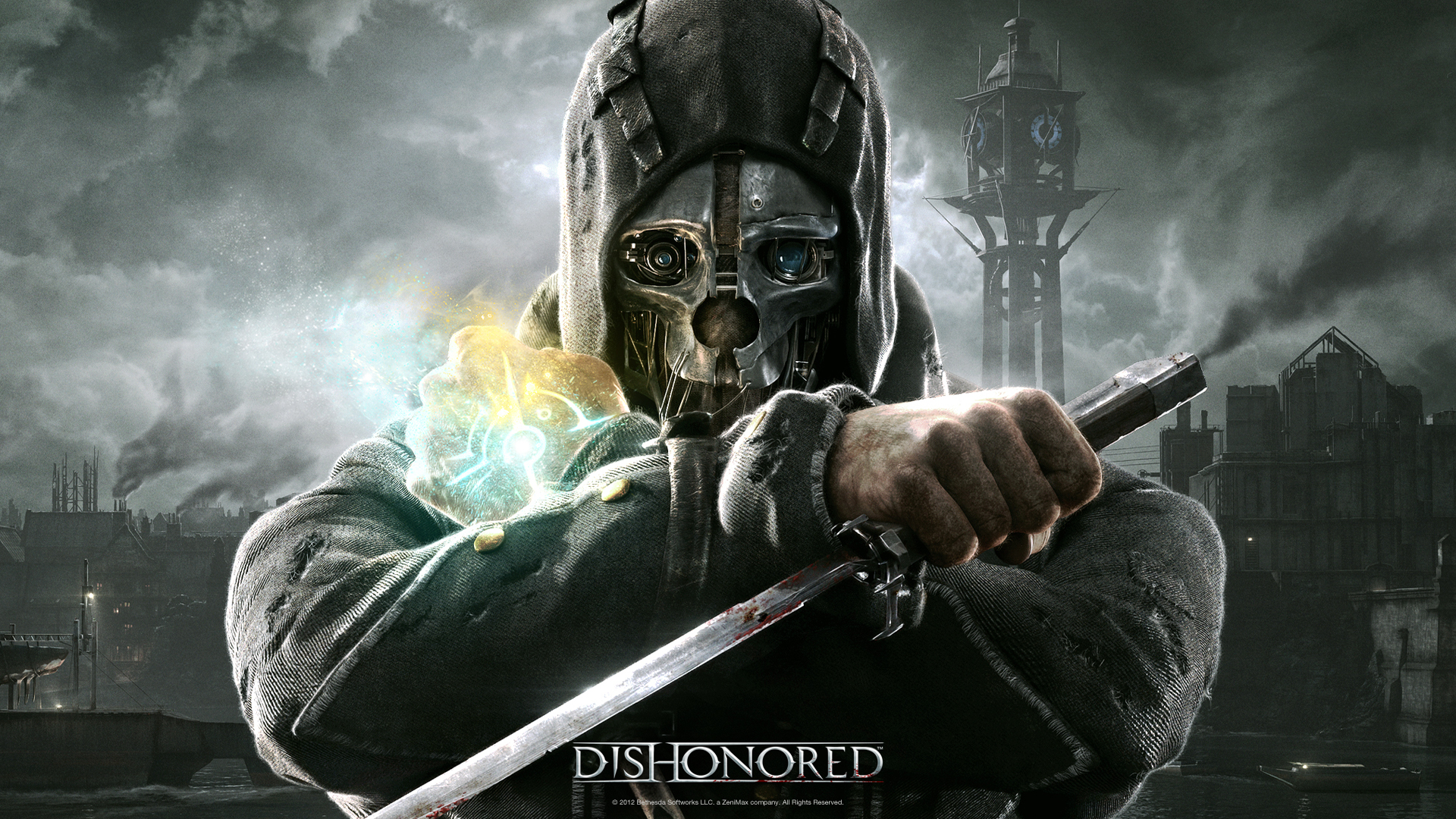 dishonored-wallpaper-1080p-wallpaper-4 - Dishonoured HD PNG