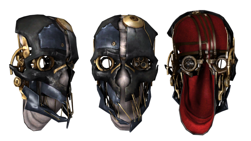 Mask of Dishonored by vadosrespekt PlusPng.com  - Dishonoured HD PNG