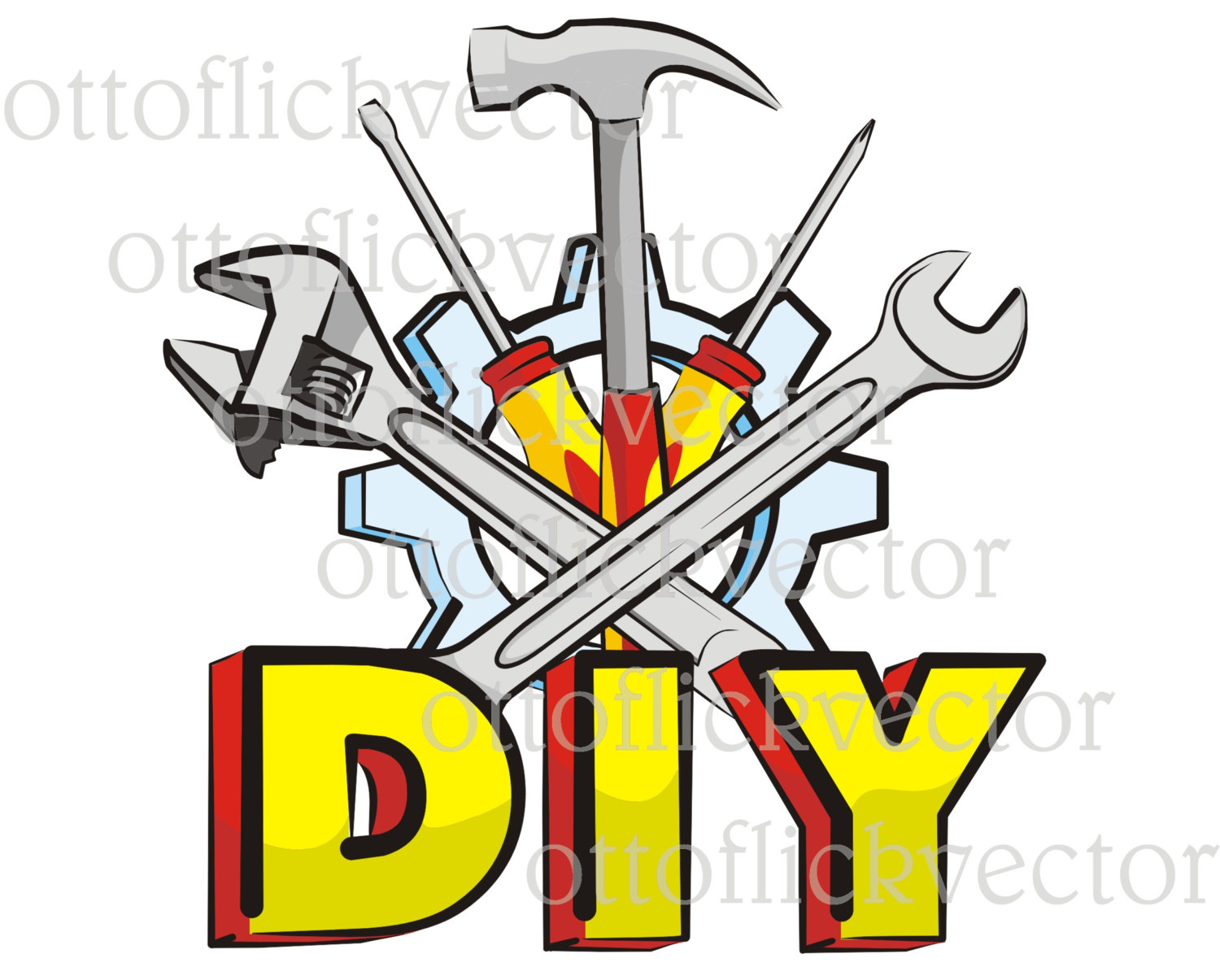 This is a digital file - Diy Tools PNG