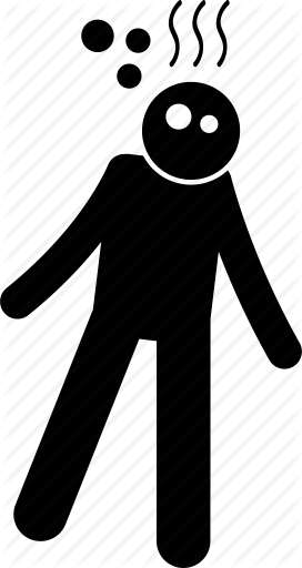 blur, confusion, dizzy, man, vertigo icon - Dizzy Man PNG