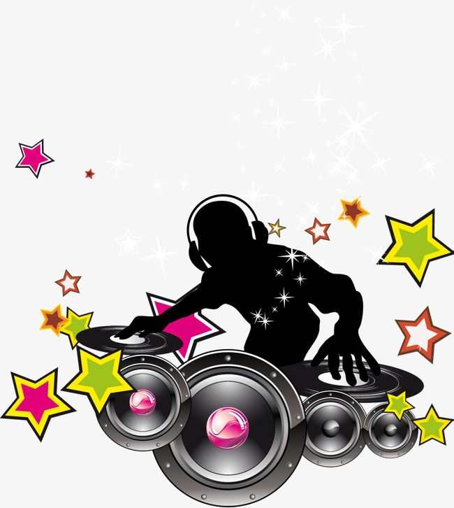 Dj Vector With Headset, With A Headset, Dj Vector, Music Png And Pluspng.com  - Dj PNG