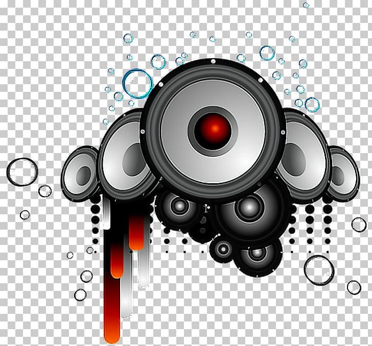 Loudspeaker Disc Jockey Stereophonic Sound, Music Logo Dj Png Pluspng.com  - Dj PNG
