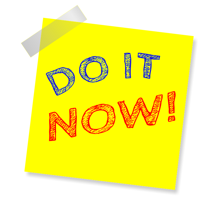 Do It Now, Note, Reminder, Post Note, Sticker - Do Now PNG