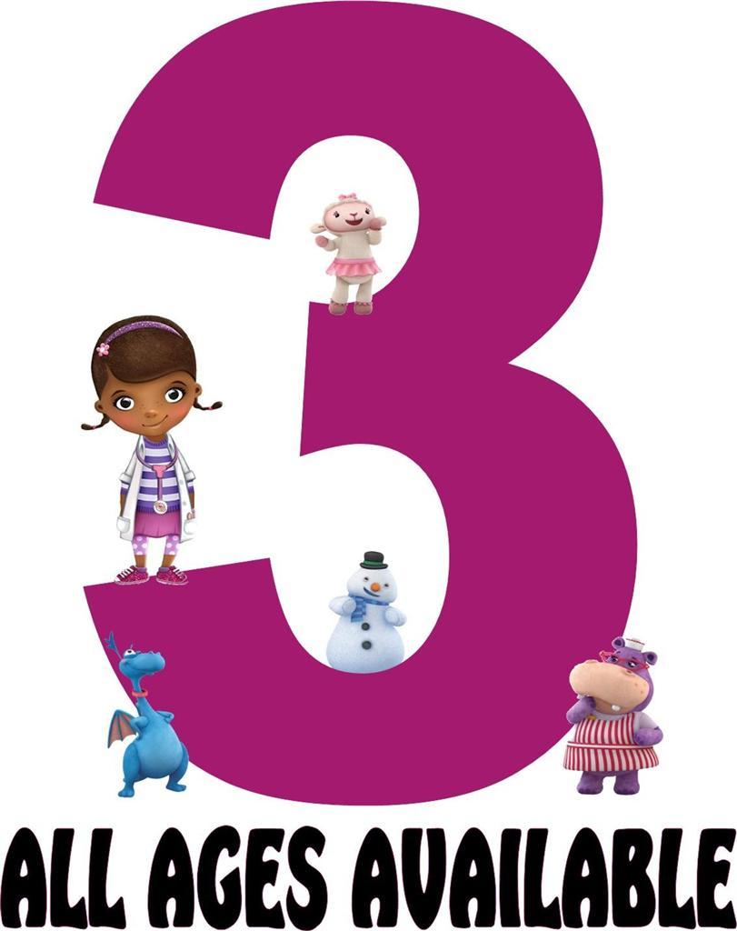 Doc Mcstuffins 2nd Birthday Clipart - ClipartFest - Doc Mcstuffins 2nd Birthday PNG