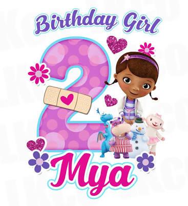 Resultado De Imagen Para Clipart Doc Mcstuffins Png · Birthday Design2nd PlusPng.com  - Doc Mcstuffins 2nd Birthday PNG