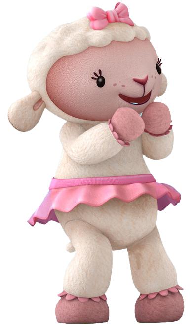 Cartoon Characters: Doc McStuffins - Doc Mcstuffins Lambie PNG