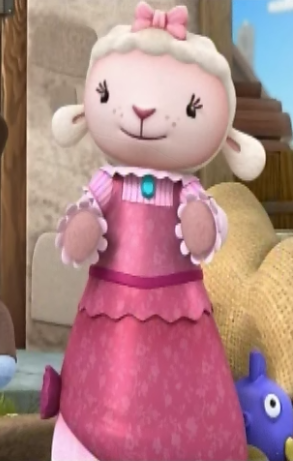 File:Lambie in her 1800s Dress.png - Doc Mcstuffins Lambie PNG