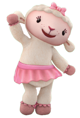 Lambie is a lamb owned by Doc McStuffins. - Doc Mcstuffins Stuffy PNG