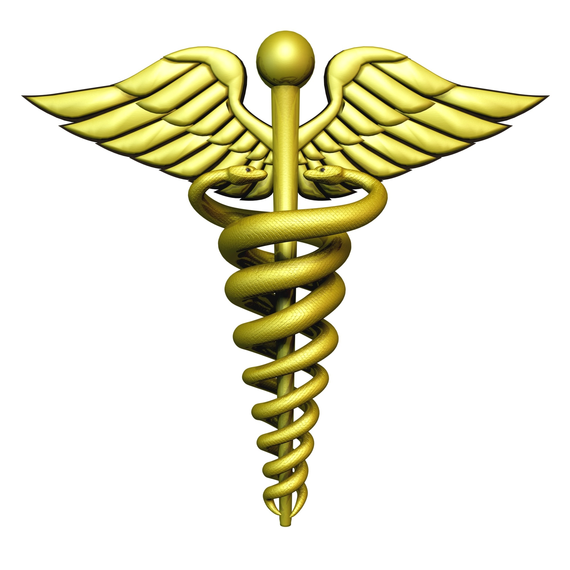 Medical Symbol Caduceus - Doctor Symbol PNG