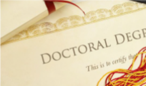Doctoral Degree - Doctoral Degree PNG