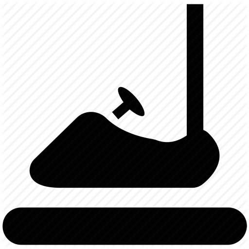 bumper car, bumping car, dashing car, dodgems, dodging car icon - Dodgems PNG