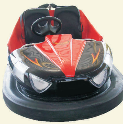 Bumper Car (FLOOR PICKUP) - Dodgems PNG