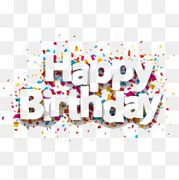 happy Birthday, Vector, Engli