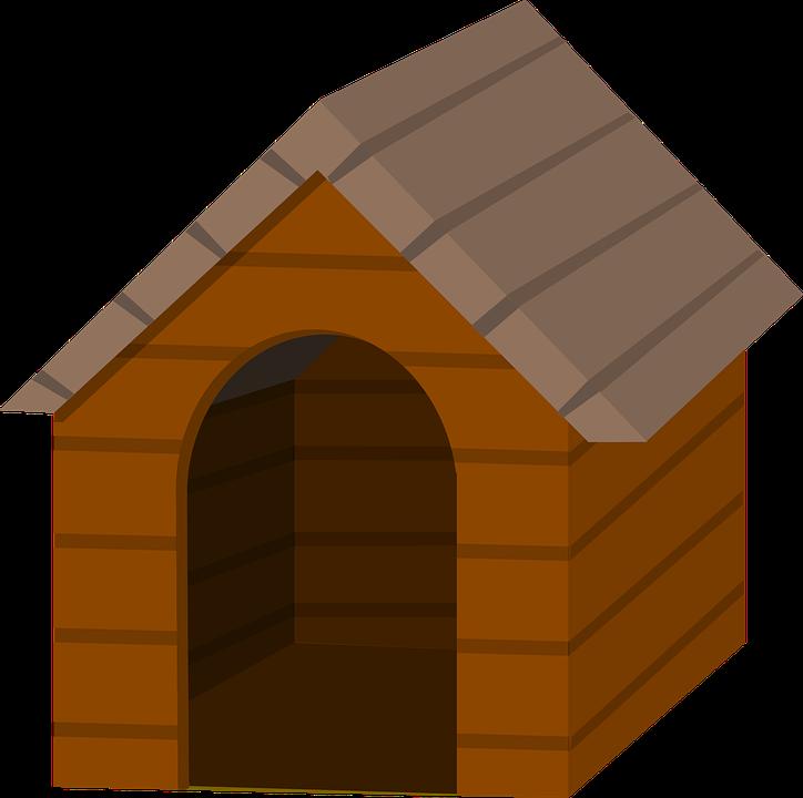Animal, Dog, Doghouse, Kennel, Pet - Dog Kennel PNG