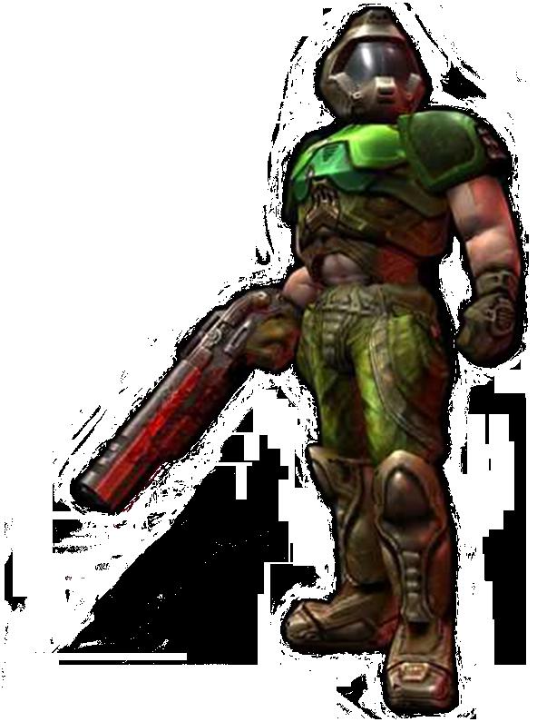Doomguy.png - Doom HD PNG