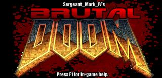 The current logo of Brutal Doom - Doom HD PNG