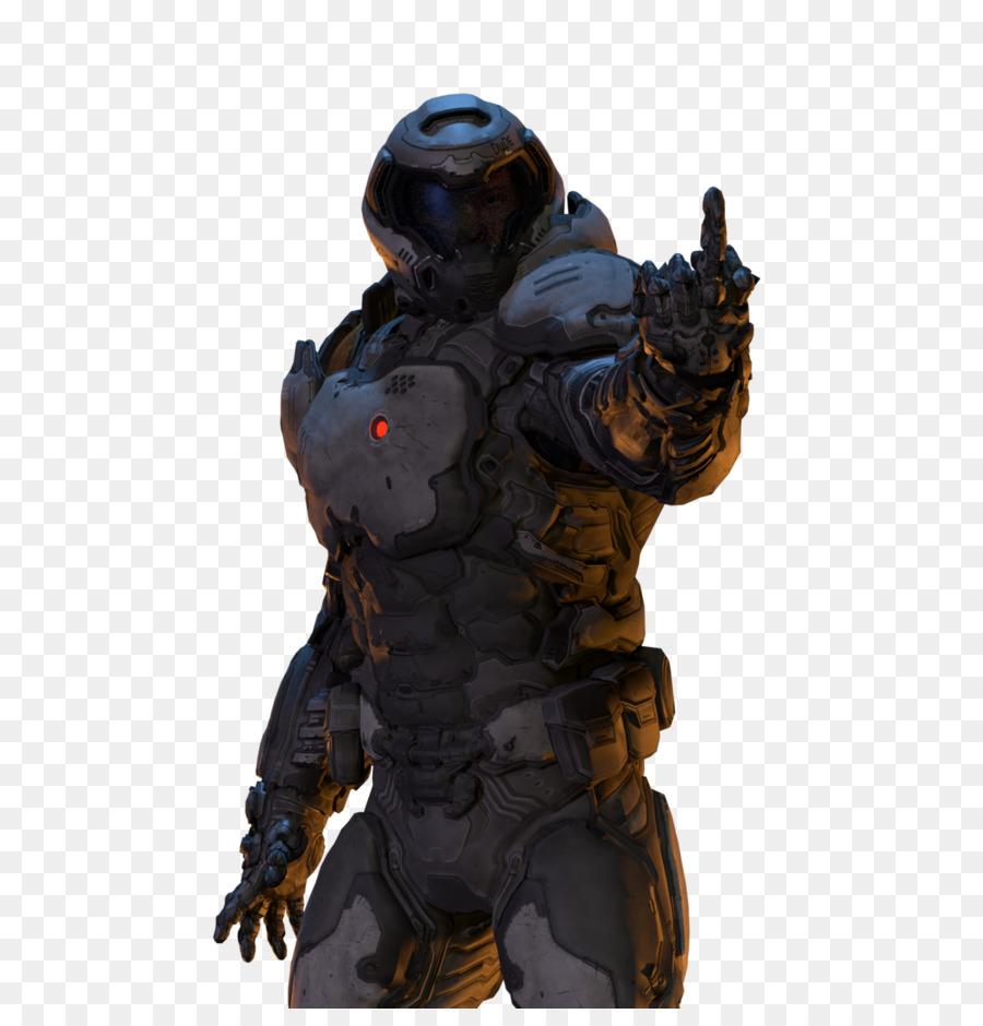 Doomguy Quake Master Chief Halo: Combat Evolved Anniversary - Doom - Doom PNG