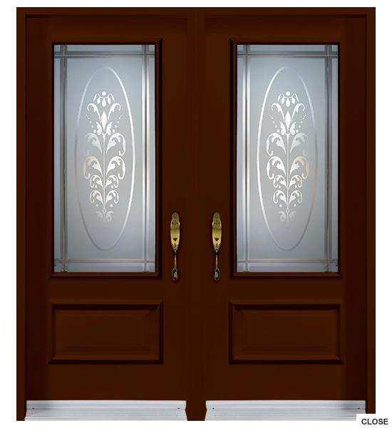 Garden/Double Door Options - Door HD PNG