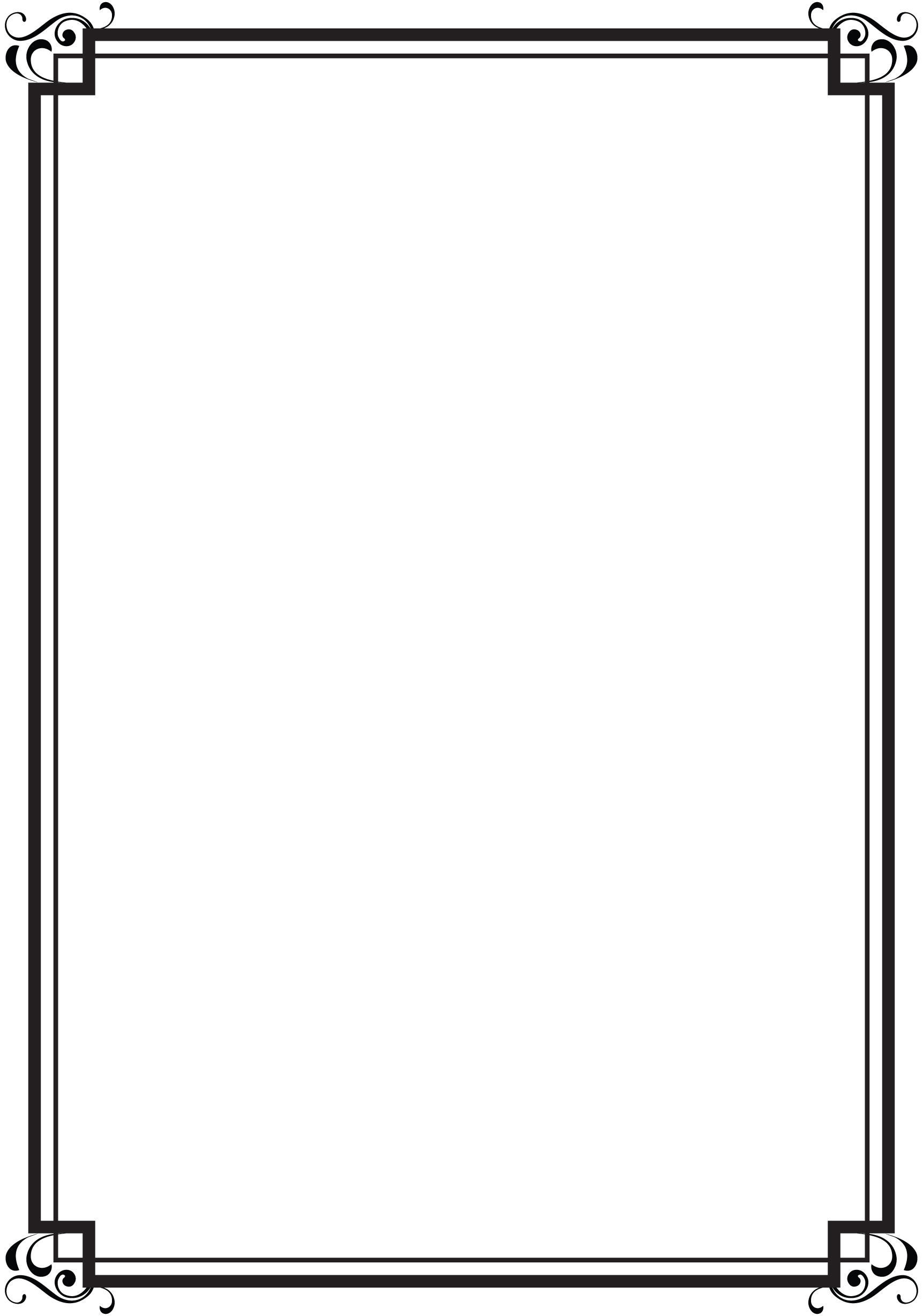 Double Line Border PNG - 151995