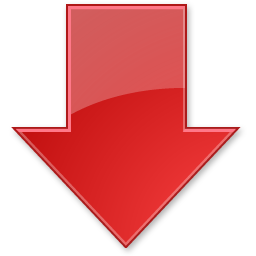 arrow, red, up icon. Download PNG - Down Arrow PNG
