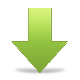 Green Arrow Down Icon Png image #6691 - Down Arrow PNG