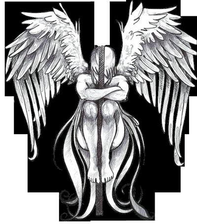 Angel Tattoos PNG - 2527