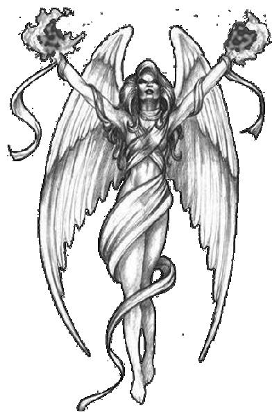 Angel Tattoos PNG - 2523