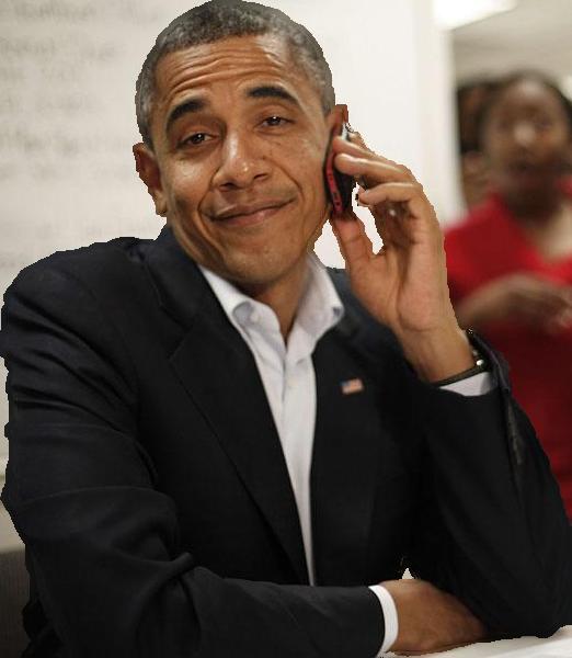 Barack Obama PNG - 848