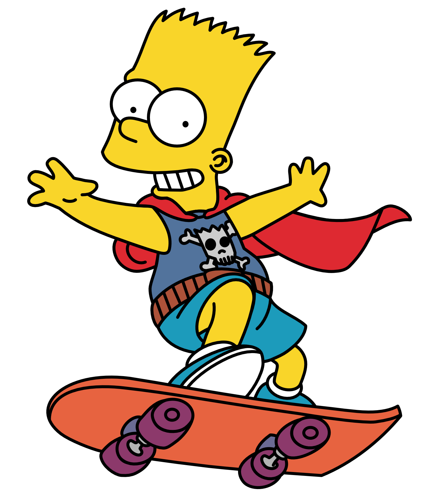 Bart Simpson PNG - 1413