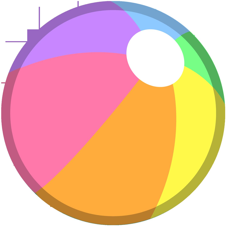 Beach Ball PNG - 7096
