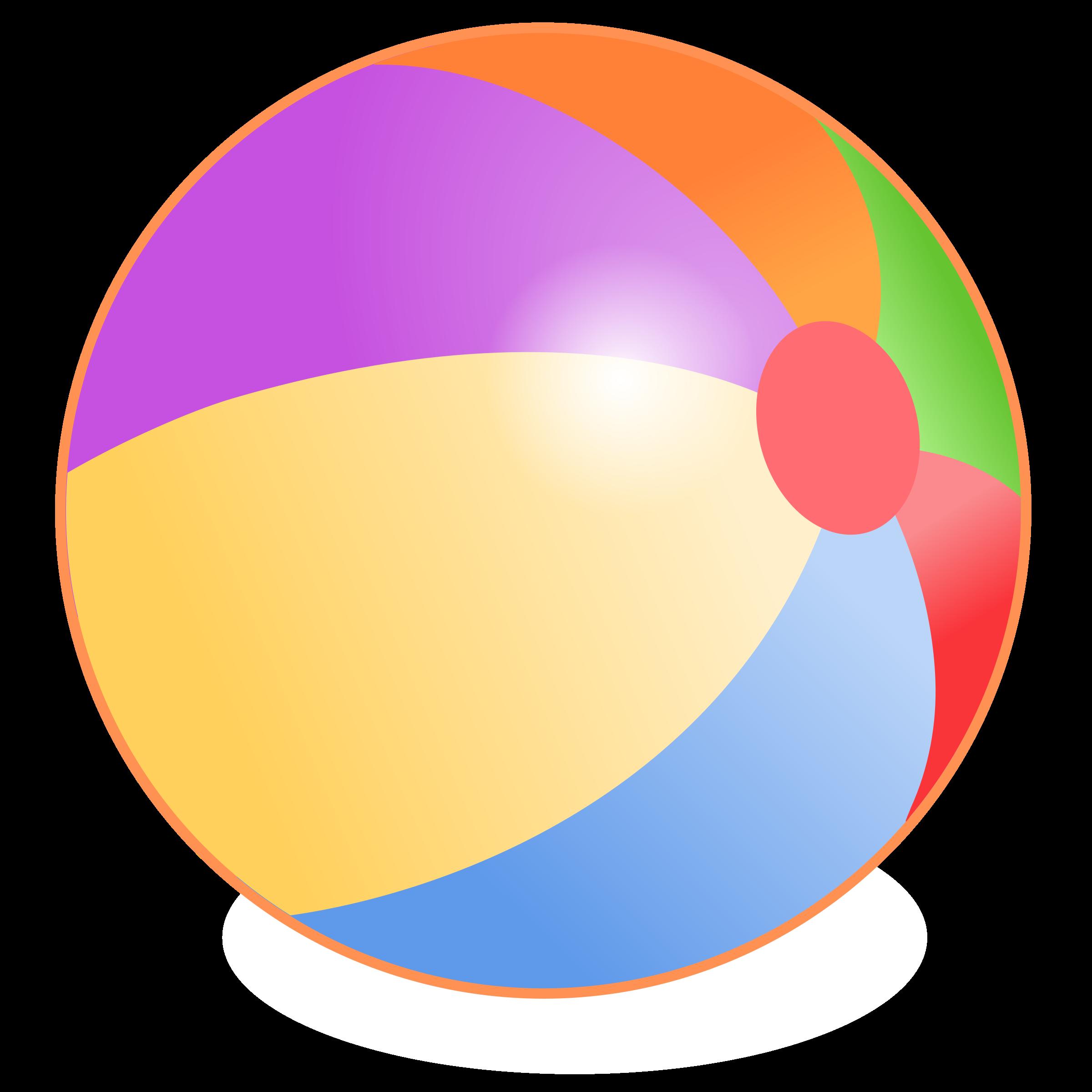 Beach Ball PNG - 7098