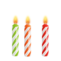 Birthday Candles PNG - 172
