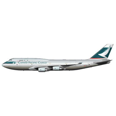 Cathay Pacific Boeing 747 - Download Boeing Logo PNG