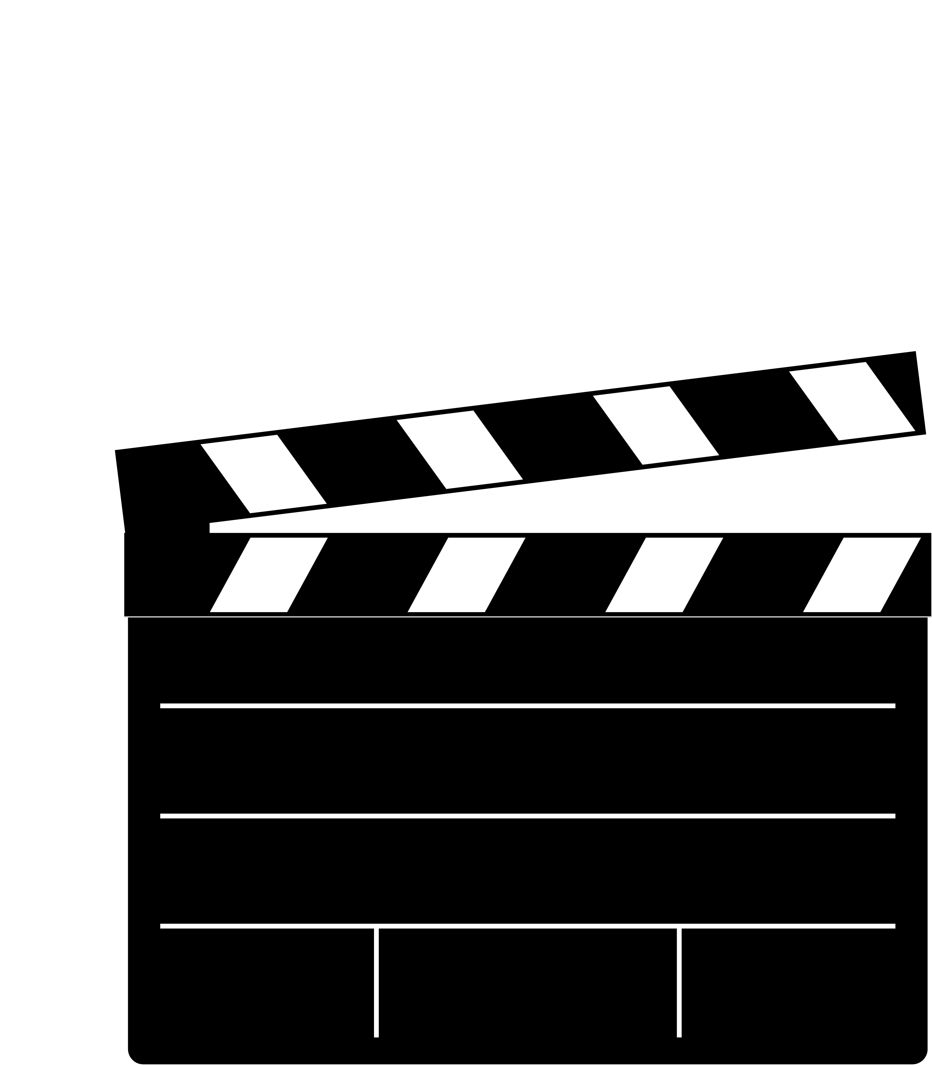 Clapperboard PNG - 4449