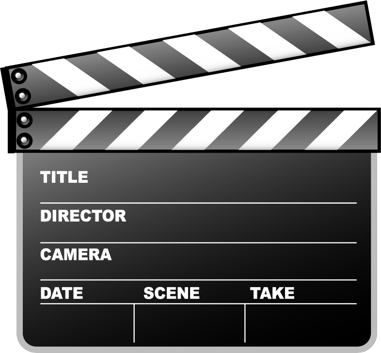 Clapperboard PNG - 4448