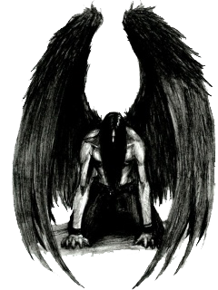 Dark Angel Picture PNG Image