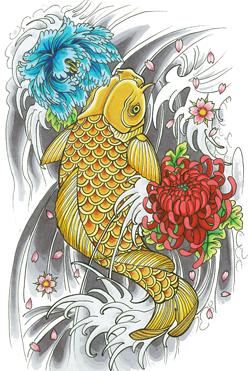 Fish Tattoos PNG - 911