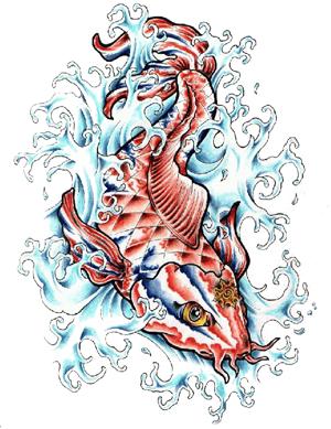 Fish Tattoos PNG - 908