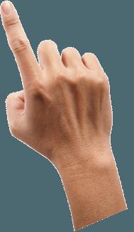 Download PNG image - Finger Png Image - Finger PNG