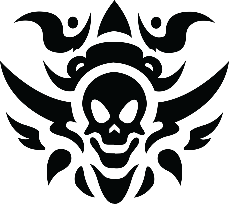 Download PNG image - Tribal Skull Tattoos Free Download Png - Tribal Tattoos PNG