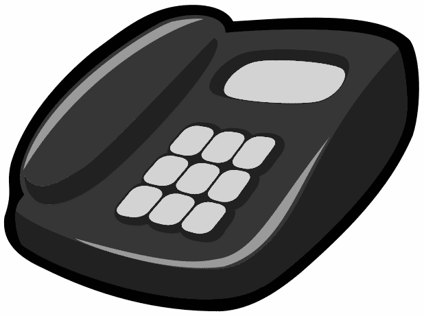 Telephone PNG - 6360
