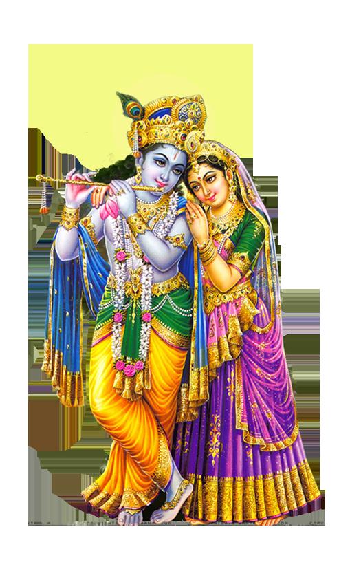 Radha Krishna PNG