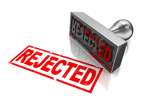 Rejected Stamp PNG - 3884