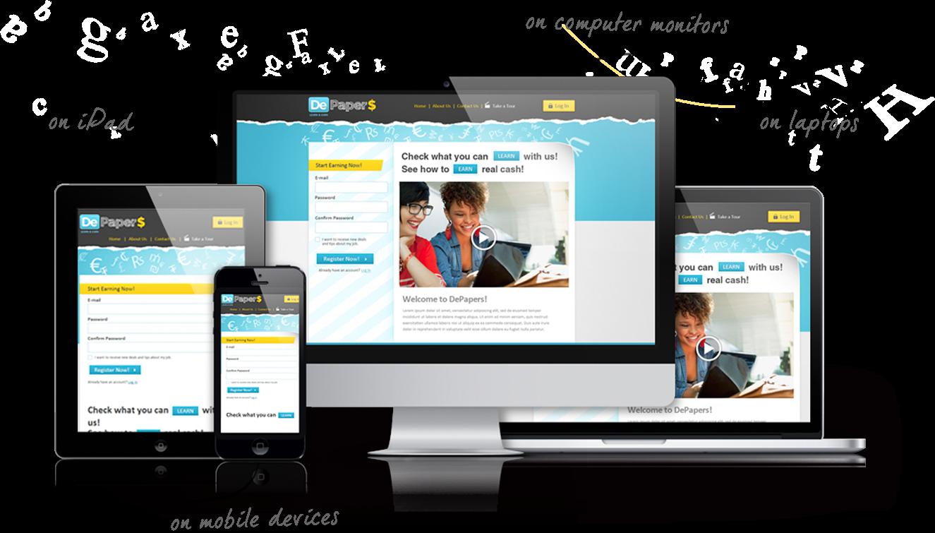 Web Design PNG - 5859