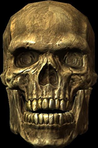 Skeleton Head PNG